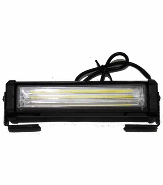 High Bright 2pcs Car Styling External Flash Light White Lamp