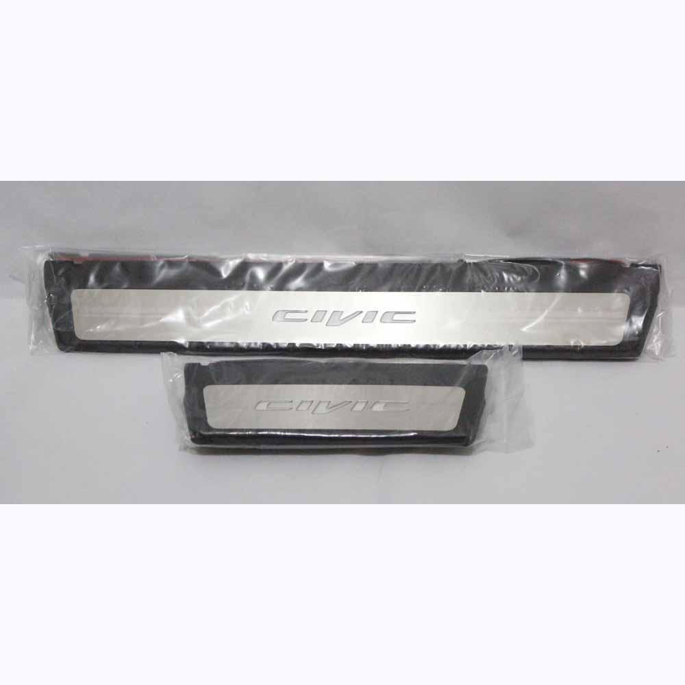 Premium LED Door Plates 4Pcs - CIVIC