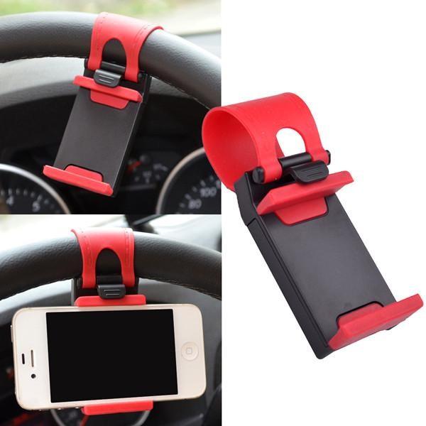 Universal Car Steering Wheel Mobile Holder