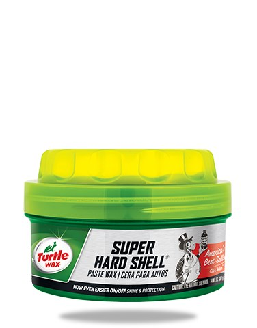 TURTLE WAX SUPER HARD SHELL PASTE WAX 270g