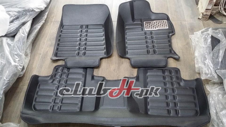 Honda Civic Reborn 5D Floor Mats - BLACK