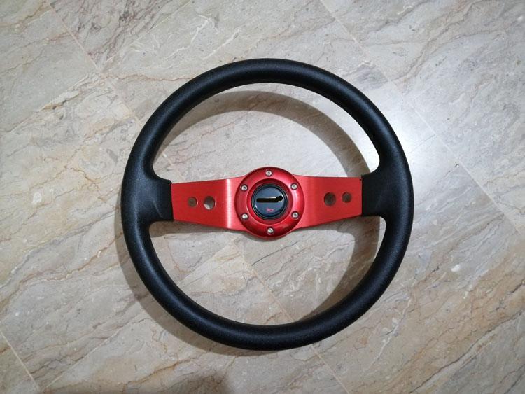 Universal Deep Dish Steering - RED